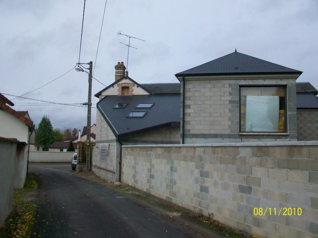 Construction r novation maison sens 89 agrandissement d for Extension maison yonne