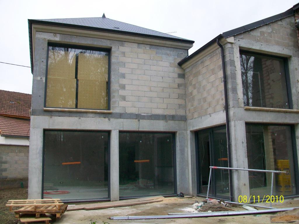 Construction r novation maison sens 89 agrandissement d for Construction maison 89